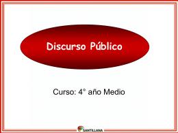 Discurso Público - Santillana Conectados