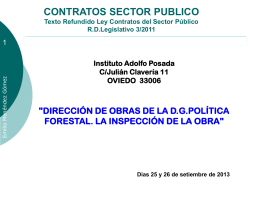 Contratos del Sector Público