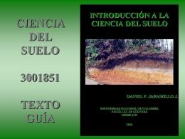 ciencia del suelo 3001851 - UNvirtual
