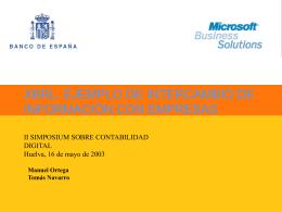 Central de Balances - Asociación XBRL España