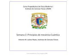 Notas sobre estado sólido I - Instituto de Ciencias Físicas