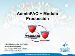 AdminPAQ2006+Producción