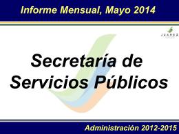 Mayo 2014 - Juárez, NL