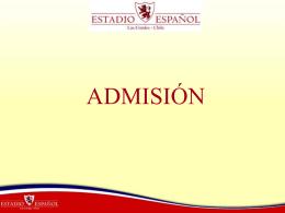 Diapositiva 1 - Estadio Español de las Condes