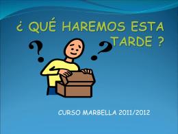Currículum ordinario - Plataforma colaborativa del CEP Marbella-Coín