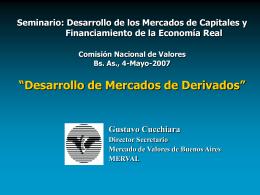 (Merval). - Comisión Nacional de Valores