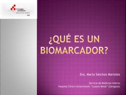 ¿Qué es un biomarcador? - Jornadas de Actualizacion Insuficiencia