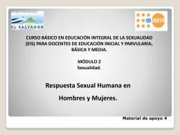 Material de apoyo 4 Presentacion Respuesta Sexual Humana