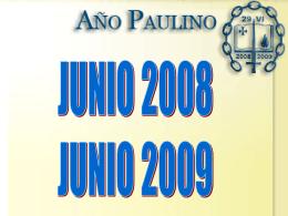 Presentación Año Paulino - Arquidiócesis de Tijuana