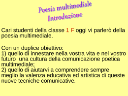 Poesia multimediale
