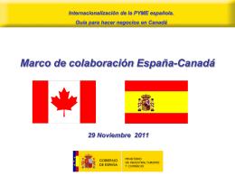 Secretaria - Cámara de Comercio Canadá España