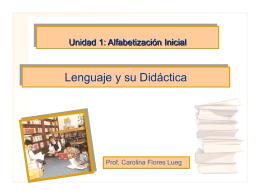 Eje de Aprendizaje Comunicación Oral, Clase 2 (30 11 )