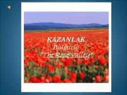 Viaje a Bulgaria - Colegio MB Cossío