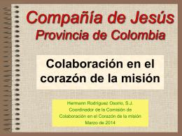 Colaboración en el corazón de la misión