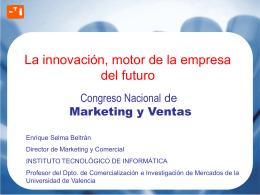 La innovación motor de la empresa del futuro