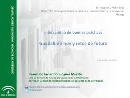 Proyecto GUADALINFO (pps) - Federación Andaluza de Municipios