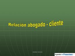 Relación abogado-cliente