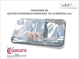 gestionar - Cámara de comercio de Lugo