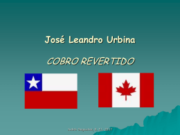 José Leandro Urbina: Cobro revertido (1992)