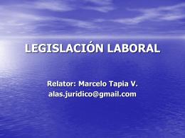 Derecho laboral - definiciones y principios