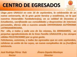 Diapositiva 1 - Universidad Autónoma Latinoamericana