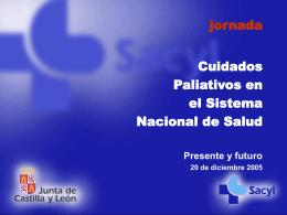 Desarrollo de los cuidados paliativos en Castilla y León