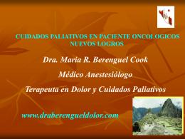Enfermo Terminal - Dra. María Berenguel Cook
