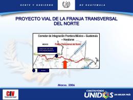 PROYECTO VIAL DE LA FRANJA TRANSVERSAL DEL NORTE