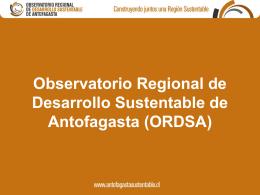Presentación ORDSA - Instituto Políticas Públicas del Norte