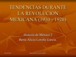 Tendencias Revolucionarias