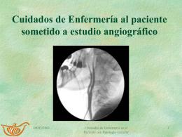 Angiografía diagnóstica