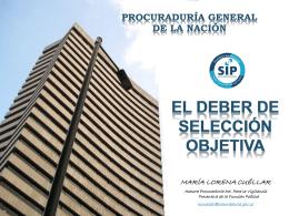 PowerPoint template - Procuraduría General de la Nación