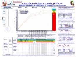 Sala Situacion Campaña Hepatitis B Perú 2008