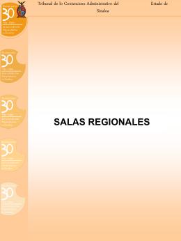 salas regionales - Portal de Acceso a la Información