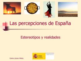 Las percepciones de España
