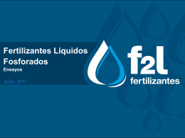 ¿Quiénes somos? - F2L Fertilizantes