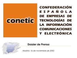 Ver Dossier de Prensa