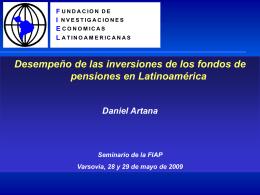 Daniel Artana - (FIAP) Federación Internacional de Administradoras