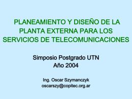 Postgrado UTN 1 - Redes y Servicios