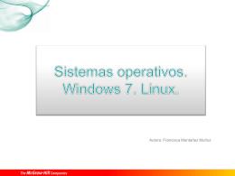 Sistemas operativos según el número de usuarios