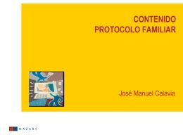 contenido protocolo familiar