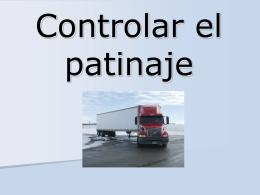 Skid control