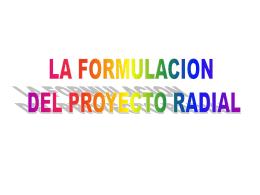 MODULO FORMULACION DEL PROYECTO