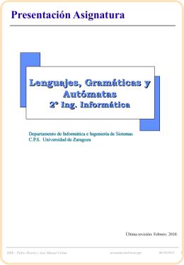 1_Presentacion - Universidad de Zaragoza