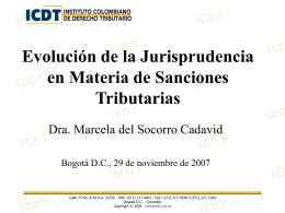 Presentación Dra. Marcela del Socorro Cadavid