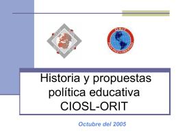 Informe de la Secretaría de Política Sindical y