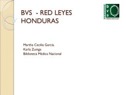 LEYES HONDURAS