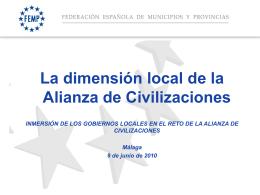 La dimensión Local de la AC