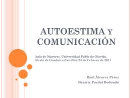 COMUNICACIÓN Y AUTOESTIMA