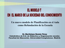 Bajar presentación - Blog de Martiniano Román Pérez